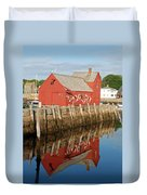 Motif 1 With Reflection Duvet Cover