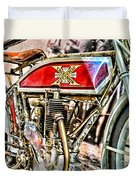 Motorcycle - 1914 Excelsior Auto Cycle Duvet Cover