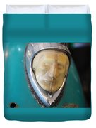Motorcycle Medalion Duvet Cover