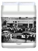 Motorcycle Rally Hollister California July 4, 1947 Duvet Cover