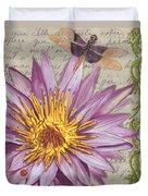 Moulin Floral 1 Duvet Cover by Debbie DeWitt