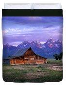 Moulton Barn Sunrise Duvet Cover