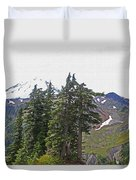 Mount Baker Area Wilderness Duvet Cover