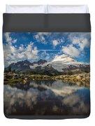 Mount Baker Cloudscape Duvet Cover