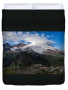 Mount Baker View Duvet Cover