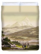 Mount Cayambe, Ecuador, From Le Costume Duvet Cover