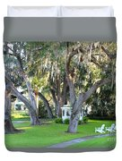Mount Dora Duvet Cover by Carey Chen