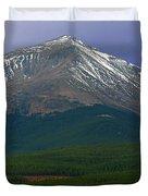 Mount Elbert Duvet Cover
