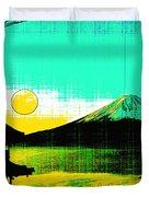 Mount Fiji Duvet Cover