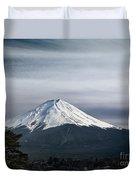 Mount Fuji Japan Duvet Cover