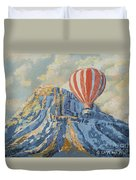 Mount Garfield  Duvet Cover