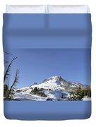 Mount Hood Oregon Panorama Duvet Cover