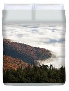 Mount Mitchell Morning Duvet Cover