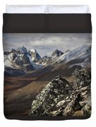Mount Monolith From Grizzly Lake Duvet Cover