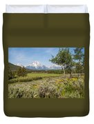 Mount Moran View Duvet Cover by Brian Harig