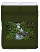 Mount Rainier Brook Duvet Cover