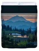 Mount Rainier Layers Duvet Cover