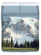 Mount Rainier Peak Duvet Cover