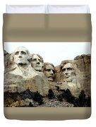 Mount Rushmore Presidents Duvet Cover