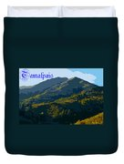 Mount Tamalpais 2013 Duvet Cover