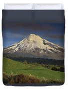Mount Taranaki Western Flanks New Duvet Cover