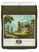 Mount Vernon, 1859 Duvet Cover