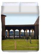 Mount Vernon Colonnade Duvet Cover