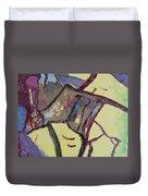 Mountain Antelope Duvet Cover