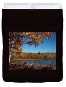 Mountain Ash In Autumn Duvet Cover