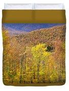 Mountain Autumn Duvet Cover