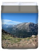 Mountain Beauty Duvet Cover