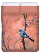 Mountain Blue Bird Duvet Cover