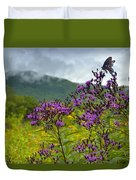 Mountain Butterfly  Duvet Cover