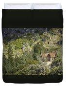 Mountain Cabin - Sierra Nevadas, California Usa Duvet Cover