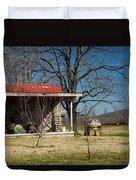 Mountain Cabin In Tennessee 2 Duvet Cover by Douglas Barnett
