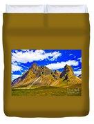 Mountain Crags Duvet Cover