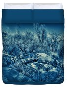 Mountain Creek Path-sundance Utah V2 Duvet Cover