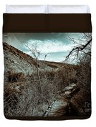 Mountain Creek Path-sundance Utah V3 Duvet Cover