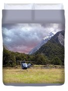 Mountain Flight Duvet Cover