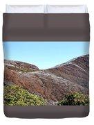 Mountain Frost Duvet Cover