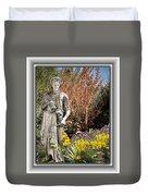 Mountain Gardener Duvet Cover