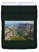 Mountain Gorge Duvet Cover