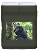 Mountain Gorillas Duvet Cover