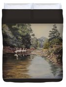 Mountain Home Creek Duvet Cover