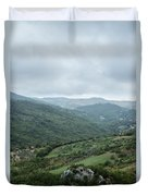 Mountain Landscape Of Italy Duvet Cover