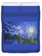 Mountain Loch Duvet Cover