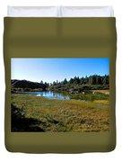 Mountain Marshes 1 Duvet Cover