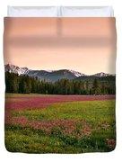 Mountain Meadow Color Duvet Cover