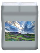 Mountain Meadow Of Flowers Duvet Cover