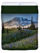 Mountain Meadow Serenity Duvet Cover